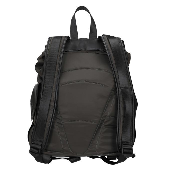 Unisex-Rucksack mit Taschen bata, Grűn, 969-7163 - 16