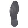 Legere Halbschuhe aus strukturiertem Leder bata, Grau, 826-2612 - 26