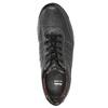 Herren-Sneakers aus Leder bata, Schwarz, 824-6921 - 26