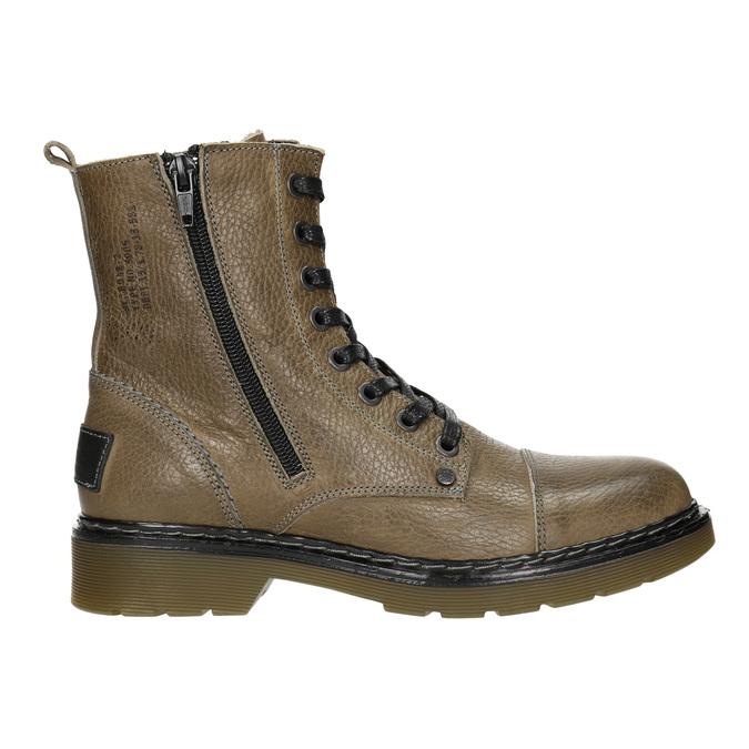 Damen-Knöchelschuhe aus Leder bata, Braun, 596-7681 - 26