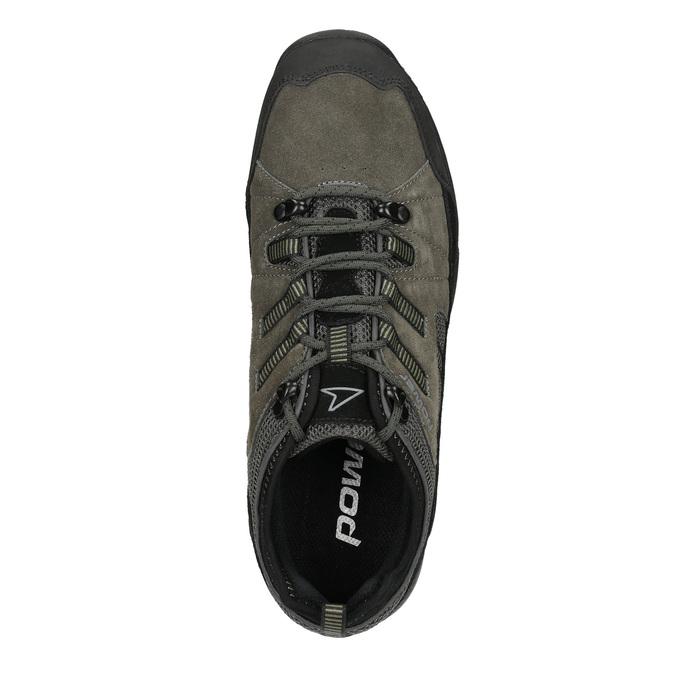 Herren-Sneakers im Outdoor-Stil power, Grau, 803-2230 - 15