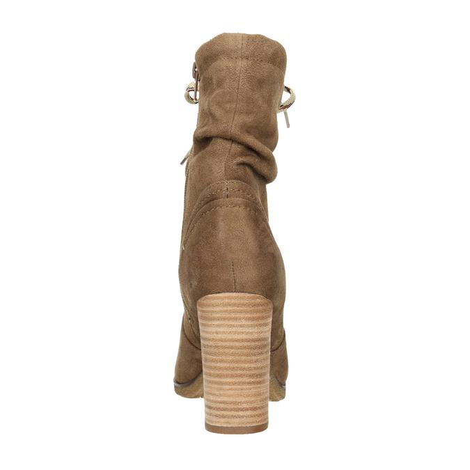 Braune Stiefel mit Absatz bata, Braun, 799-3613 - 17