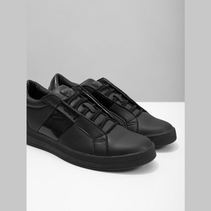 Schwarze Damen-Sneakers atletico, Schwarz, 501-6171 - 14