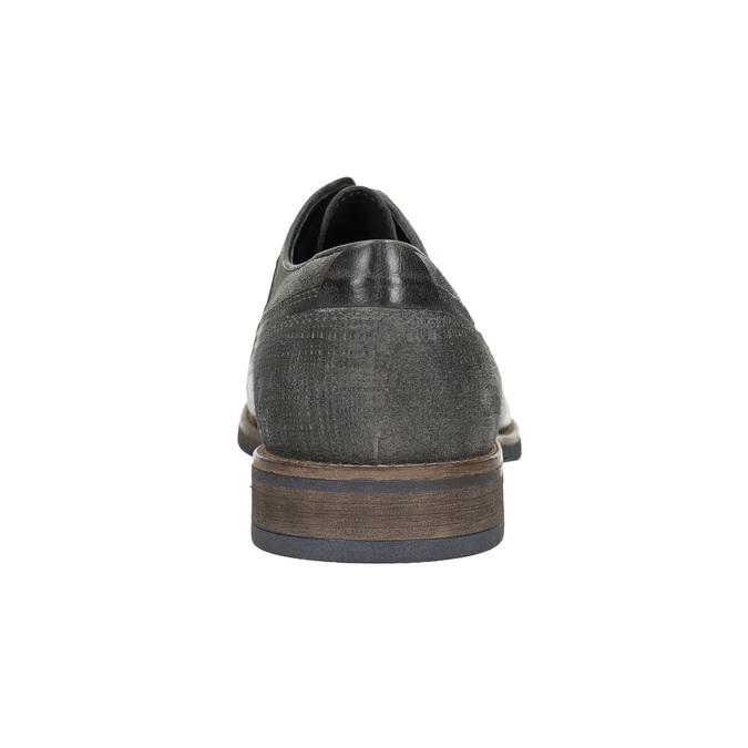 Legere Herrenhalbschuhe bata, Grau, 826-2610 - 17