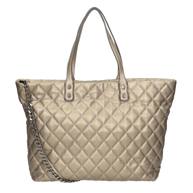 Gesteppte Damenhandtasche bata, Braun, 961-4139 - 16