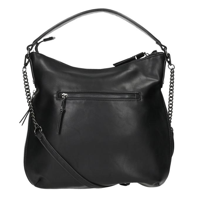 Schwarze Hobo-Damenhandtasche bata, Schwarz, 961-6177 - 16