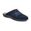 Blaue Damen-Hausschuhe bata, Blau, 579-9621 - 13