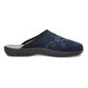 Blaue Damen-Hausschuhe bata, Blau, 579-9621 - 19