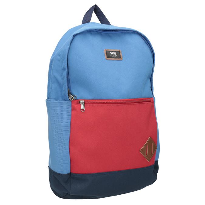 Blauer Rucksack mit roter Tasche vans, Blau, 969-9095 - 13
