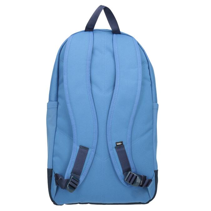 Blauer Rucksack mit roter Tasche vans, Blau, 969-9095 - 16