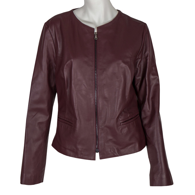 Damenjacke aus Leder bata, 974-0143 - 13