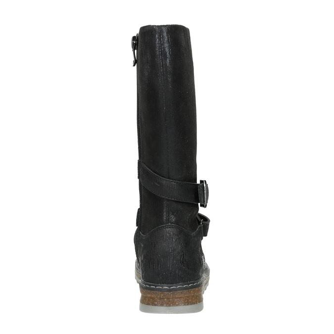 Mädchenstiefel mit massiver Sohle mini-b, Schwarz, 391-6657 - 16