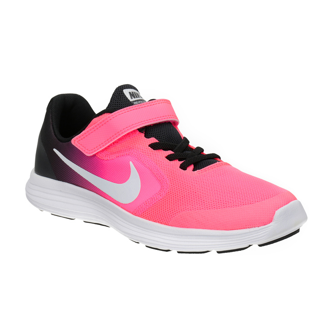 Rosa Mädchen-Sneakers nike, Rot, 309-5132 - 13
