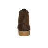 Braune Stiefeletten aus Leder bata, Braun, 843-3632 - 17
