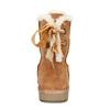 Velours-Stiefel für Damen bata, Braun, 593-4604 - 17