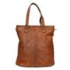 Damenhandtasche aus Leder bata, Braun, 964-3245 - 26