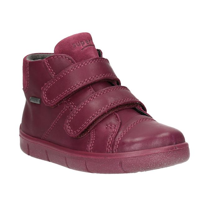 Kinder-Knöchelschuhe aus Leder, Rot, 124-5037 - 13