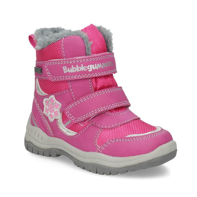 Rosa Kinder-Schneestiefel bubblegummer, Rosa, 199-5602 - 13