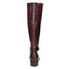Lederstiefel mit Schnalle bata, Rot, 596-5665 - 17