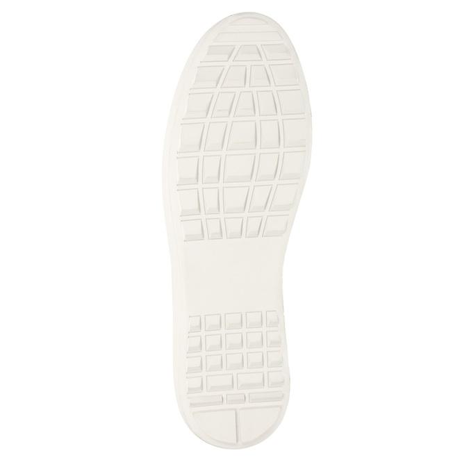 Herren-Sneakers aus Leder bata, Schwarz, 846-6643 - 17