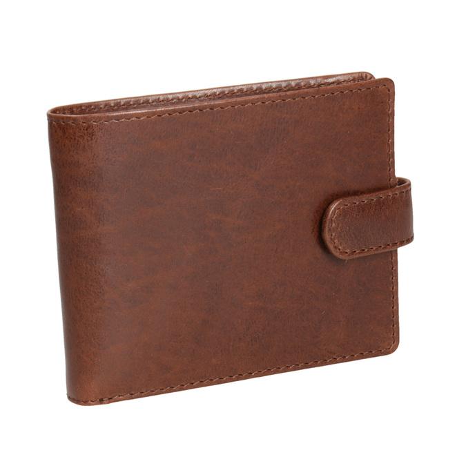 Geschenk-Set Ledergürtel und Geldbörse bata, Braun, 954-4200 - 26