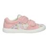 Gemusterte, rosa Mädchen-Sneakers mini-b, 221-5215 - 26
