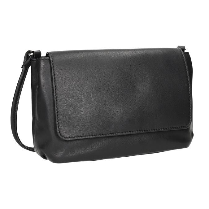 Crossbody-Damenhandtasche aus Leder bata, Schwarz, 964-6291 - 13