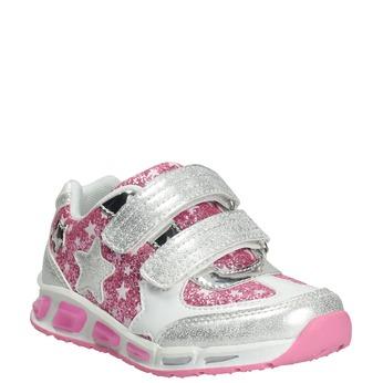 Kinder-Sneakers mit Flittern mini-b, Grau, 221-2194 - 13
