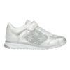 Silberne Kinder-Sneakers mit Steinchen mini-b, 329-1348 - 26