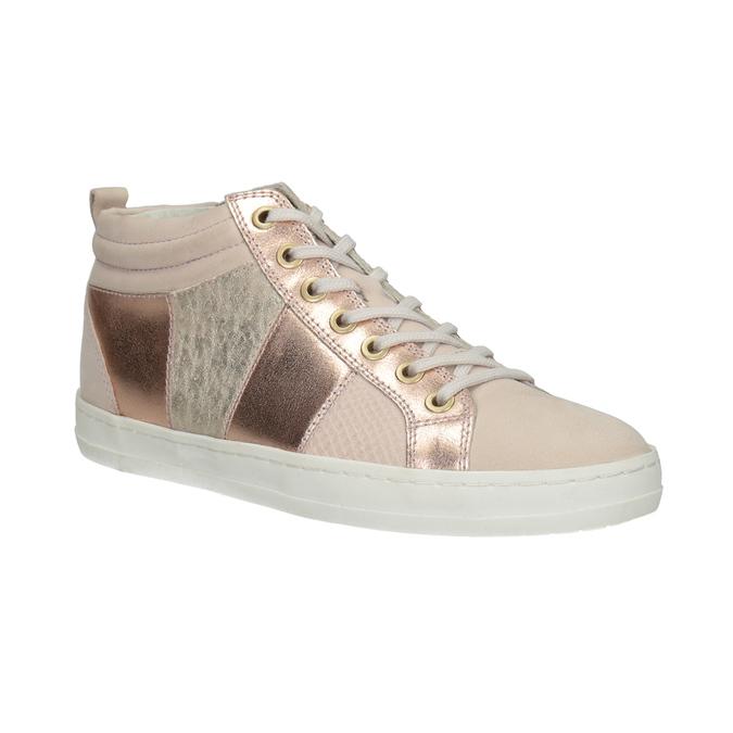 Knöchelhohe Damen-Sneakers bata, Rosa, 546-5608 - 13