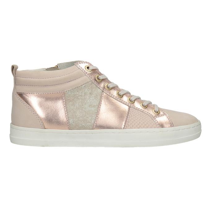 Knöchelhohe Damen-Sneakers bata, Rosa, 546-5608 - 26