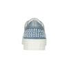 Damen-Sneakers aus Leder mit Perlen bata, Blau, 546-9606 - 16