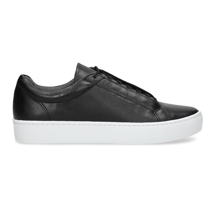 Schwarze Leder-Sneakers vagabond, Schwarz, 624-6014 - 19
